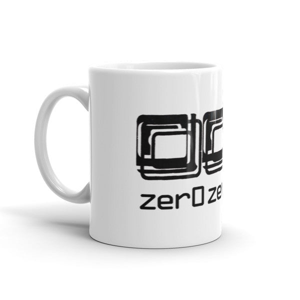 001 zer0zer0one Logo Coffee Mug - Single Logo