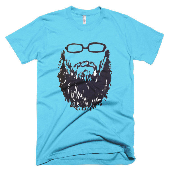 001 NEW Self-portrait Beard and Glasses Short sleeve men's t-shirt