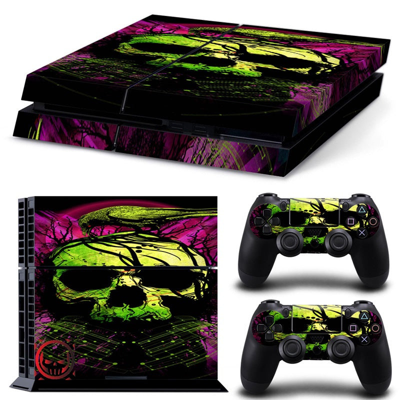 Skull Vinyl Decal for PS4 Skin Stickers
