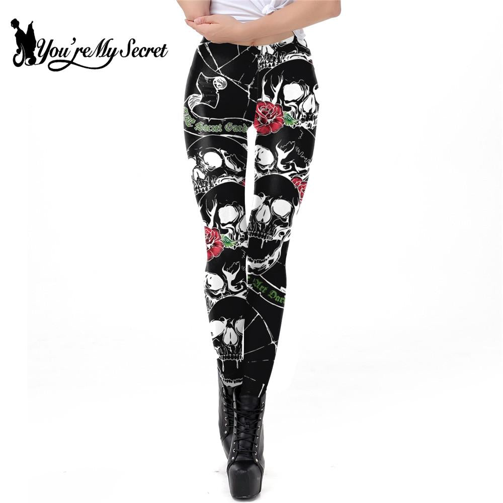 3D Printing Rose Skull Leggings