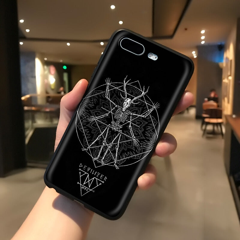 Goat Head Satan Silicone Soft Case