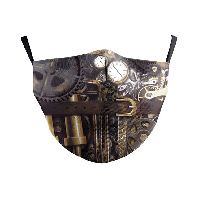 Face Mask Bts Steampunk