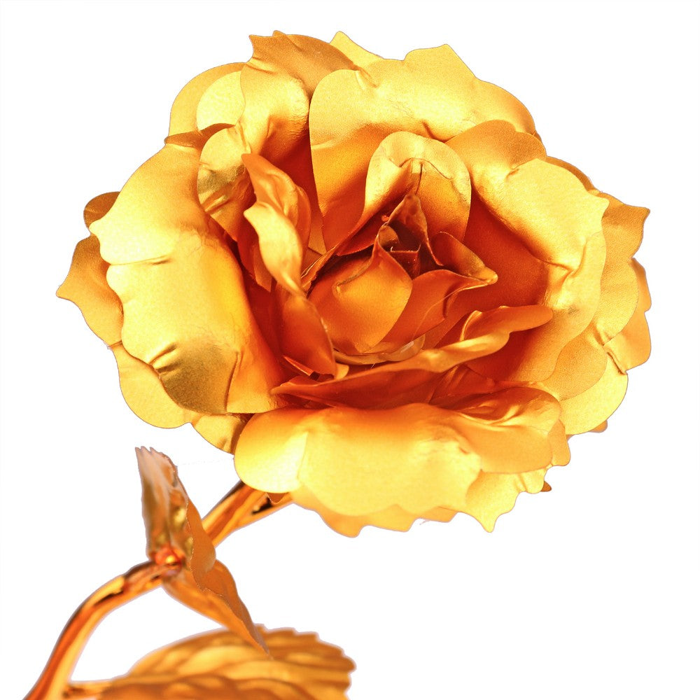 Valentine's Day Women's Gift 24K Gold Plated Rose Flower