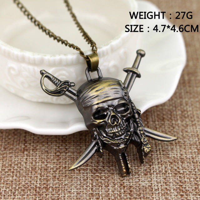 Necklace Skull Pendant Jack Necklaces