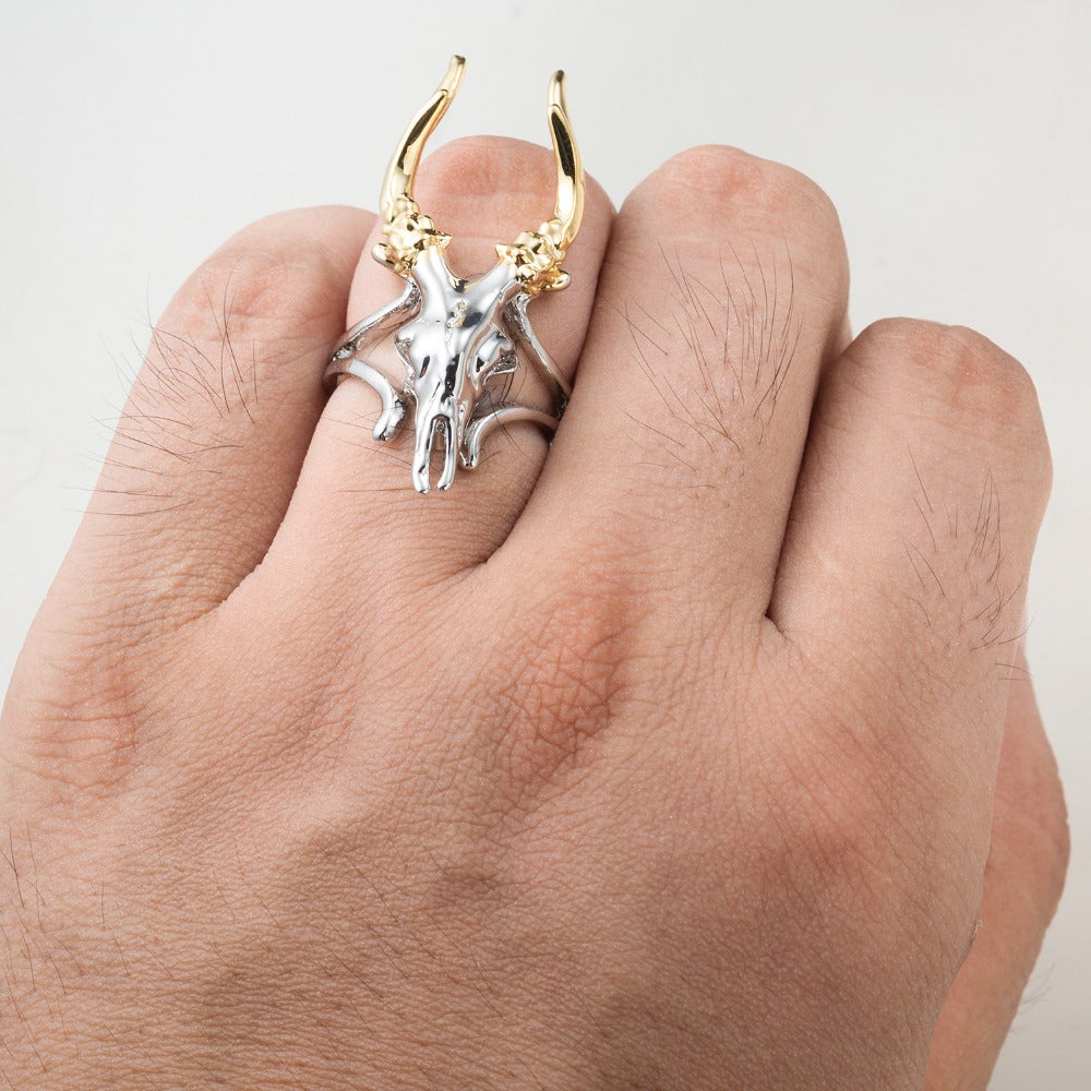 Skull Ring Punk Rock Ring Biker Rings