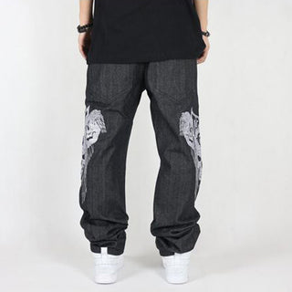 Fashion hip hop jeans for men