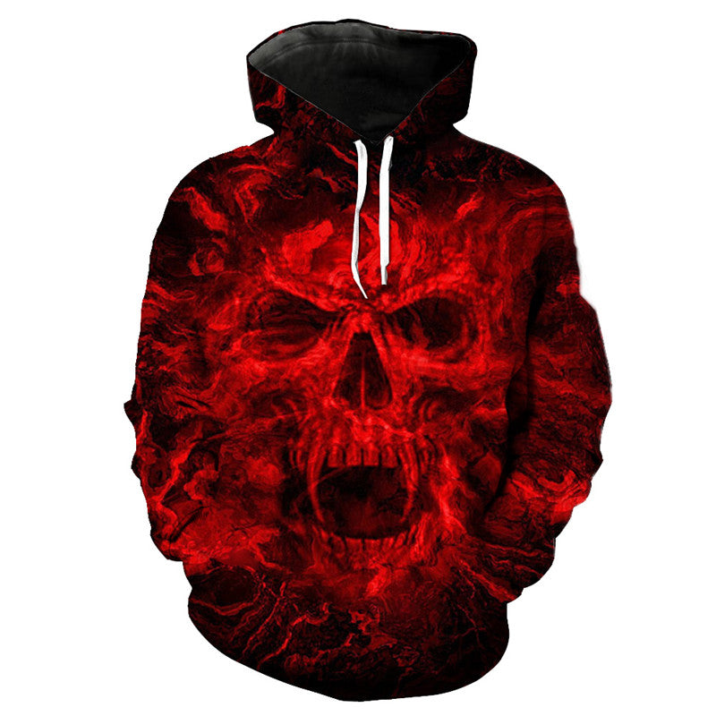 Blood Red Graffiti Personalized Hoodie