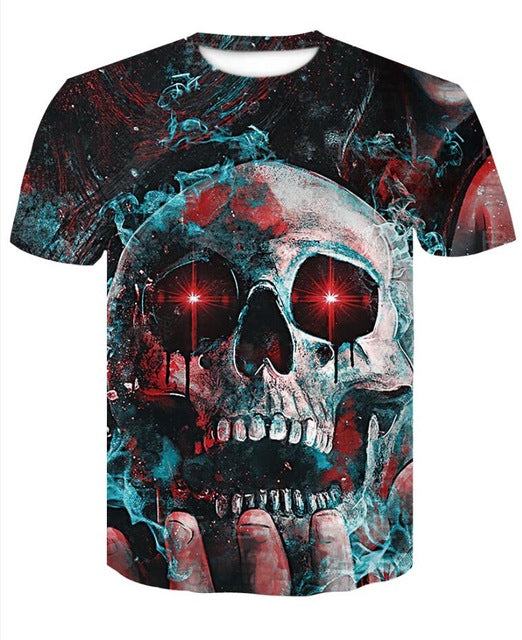 Short Sleeve 3D T Shirt Men T-Shirt
