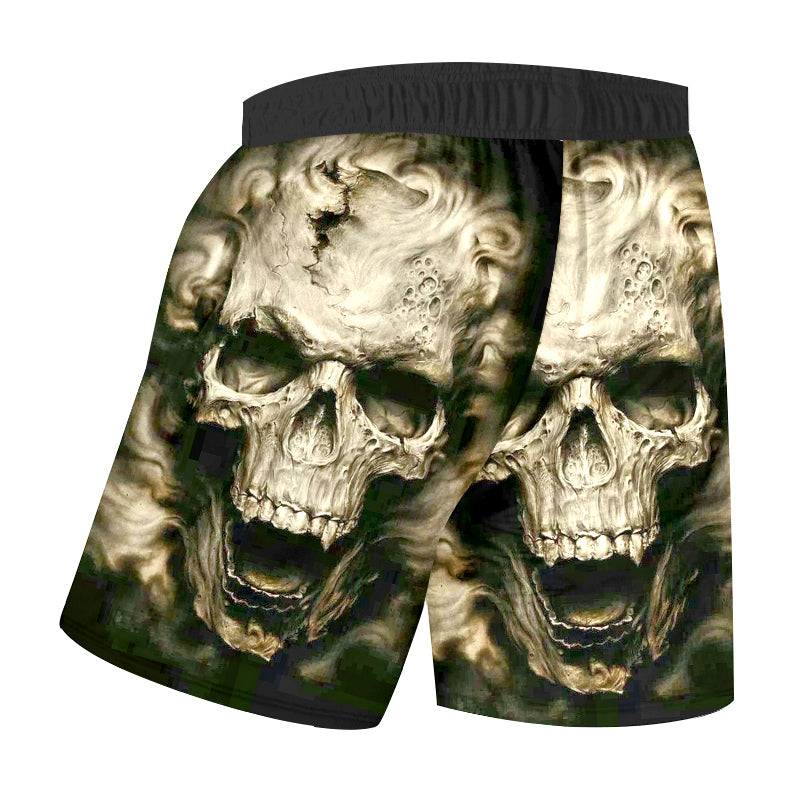 Shorts Summer Horrible Devil Skull Shorts