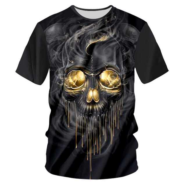 Black Tshirts Men Hip Hop Short Sleeve