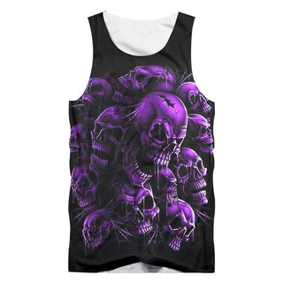 Purple Skull Tank Top