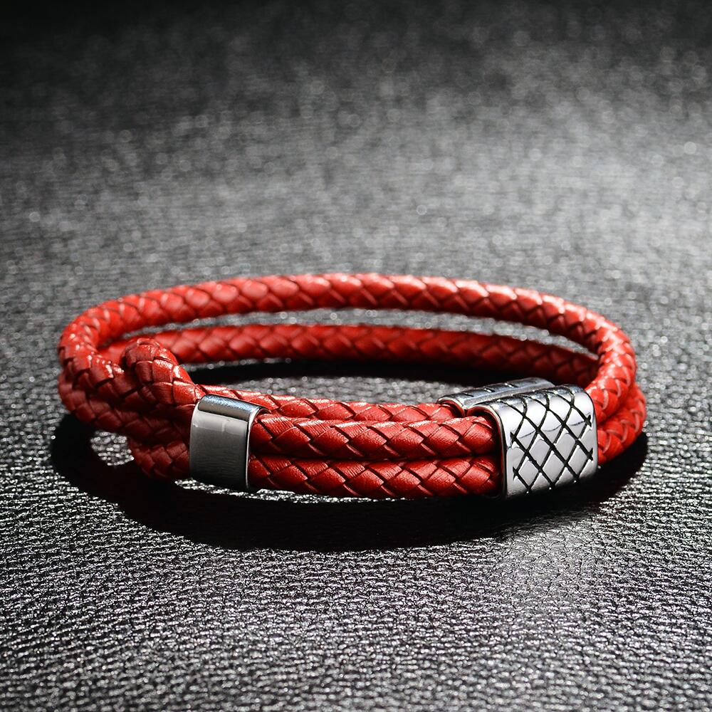 Trendy Bracelets Crack Skull Head