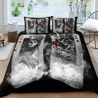 Couple sugar Skull Bedding Sets