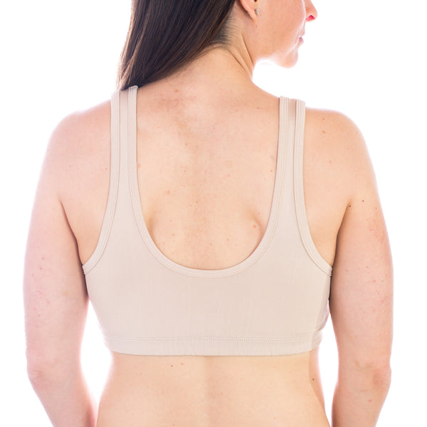 Nursing Sleep Bra - Nude, Sleep Bra, Noonisapparel, Nooni's