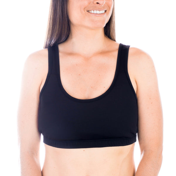 Nursing Sleep Bra - Black, Sleep Bra, Noonisapparel, Nooni's