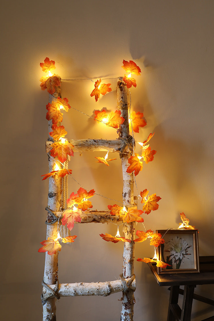 Thanksgiving Decorations Lighted Garland Halloween String Lights 8.2 Feet 20 LED