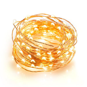 Magicnight 60 Leds Warm White Battery Operated String Light