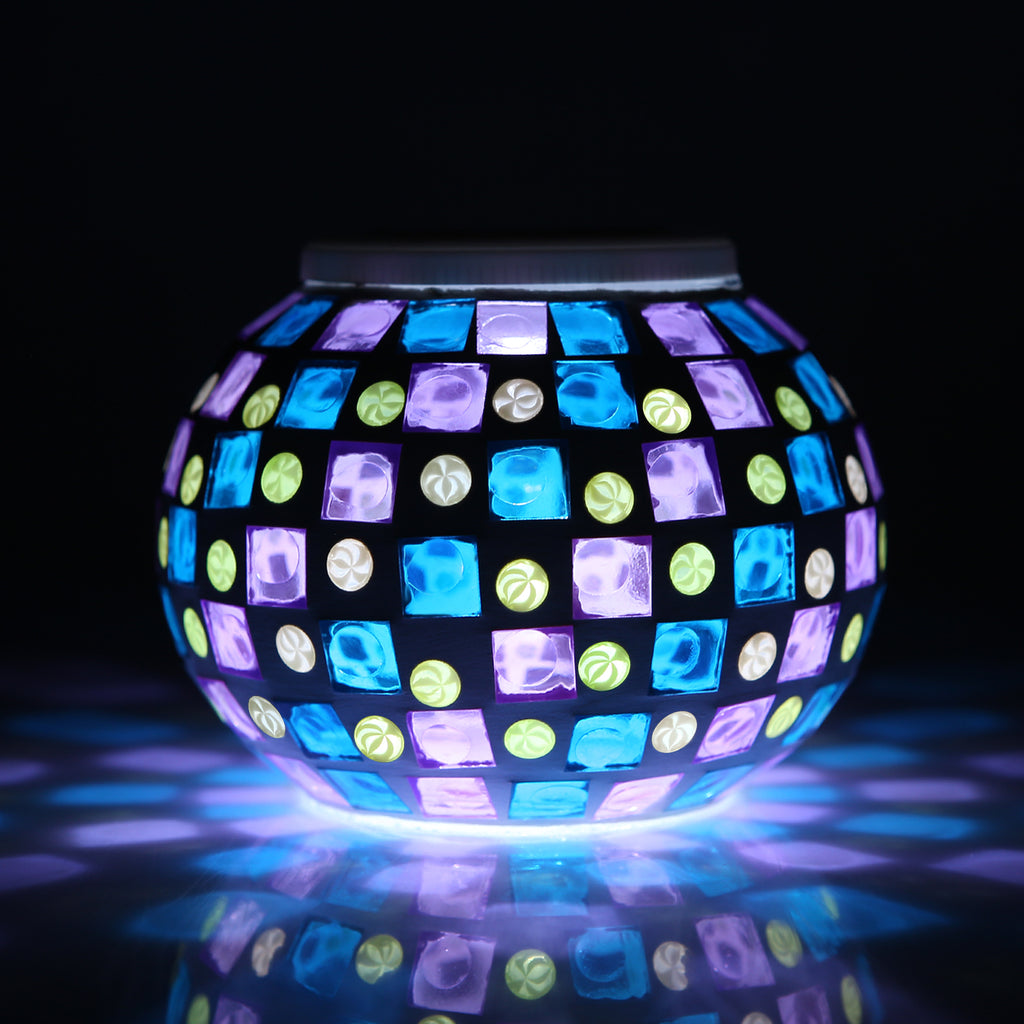 Magicnight Color Changing Mosaic Solar Table Light