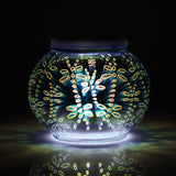 Magicnight 3D Color Changing Stained Glass Solar Table Lamp