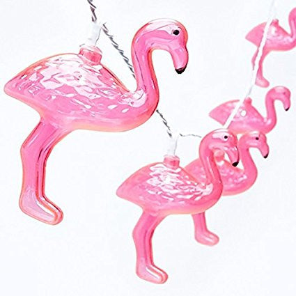 MAGICNIGHT 1.6 Meter Battery Powered Flamingo Led Fairy Lights - MAGICNIGHT