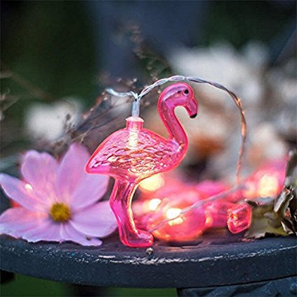 MAGICNIGHT 1.6 Meter Battery Powered Flamingo Led Fairy Lights