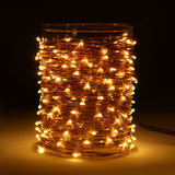 Magicnight 150 Leds 50FT Led String Starry Light Copper Wire Plug in - MAGICNIGHT