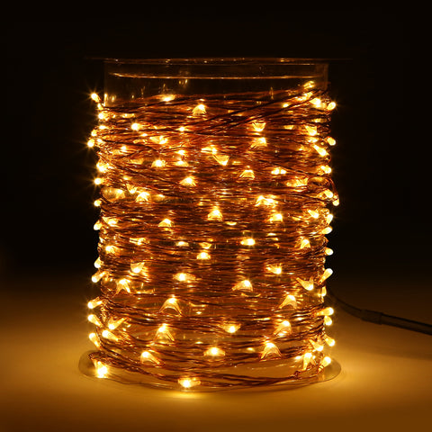 Magicnight 150 Leds 50FT Led String Starry Light Copper Wire Plug in