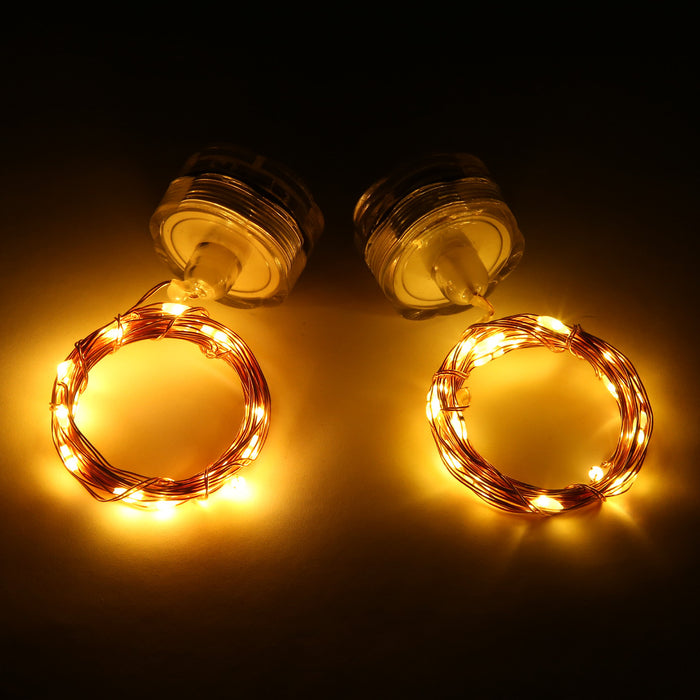 Magicnight Submersible Tea Lights 20 Leds Fairy String lights