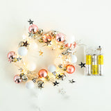 2M 20 LEDs Ring Bell String Lights Battery Powered