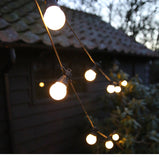 LED Festoon Party String Globe Light-33ft 20 Balls
