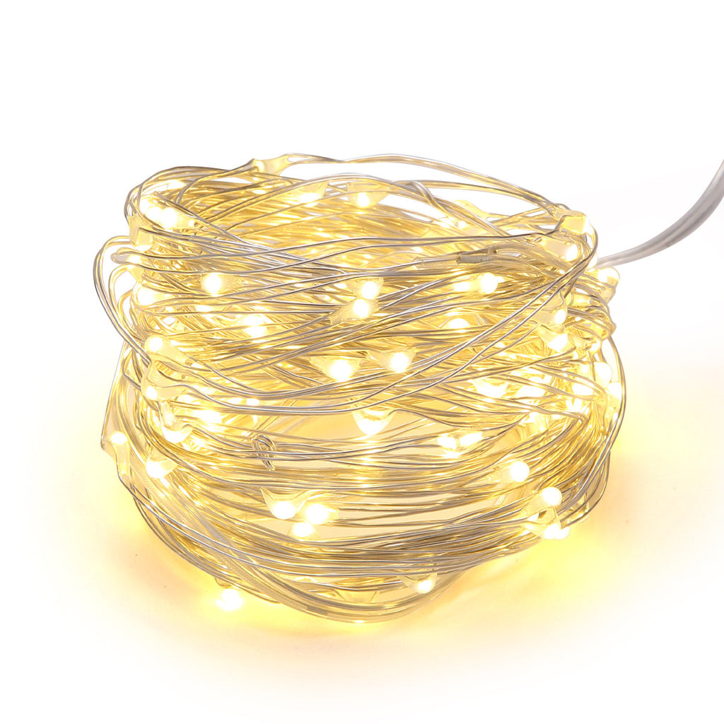 MAGICNIGHT LED USB Silver Twinkling Starry String Light - MAGICNIGHT
