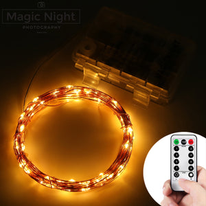 Magicnight 20FT 6M 60 LEDs String Fairy Lights  Remote Control / Timer Function