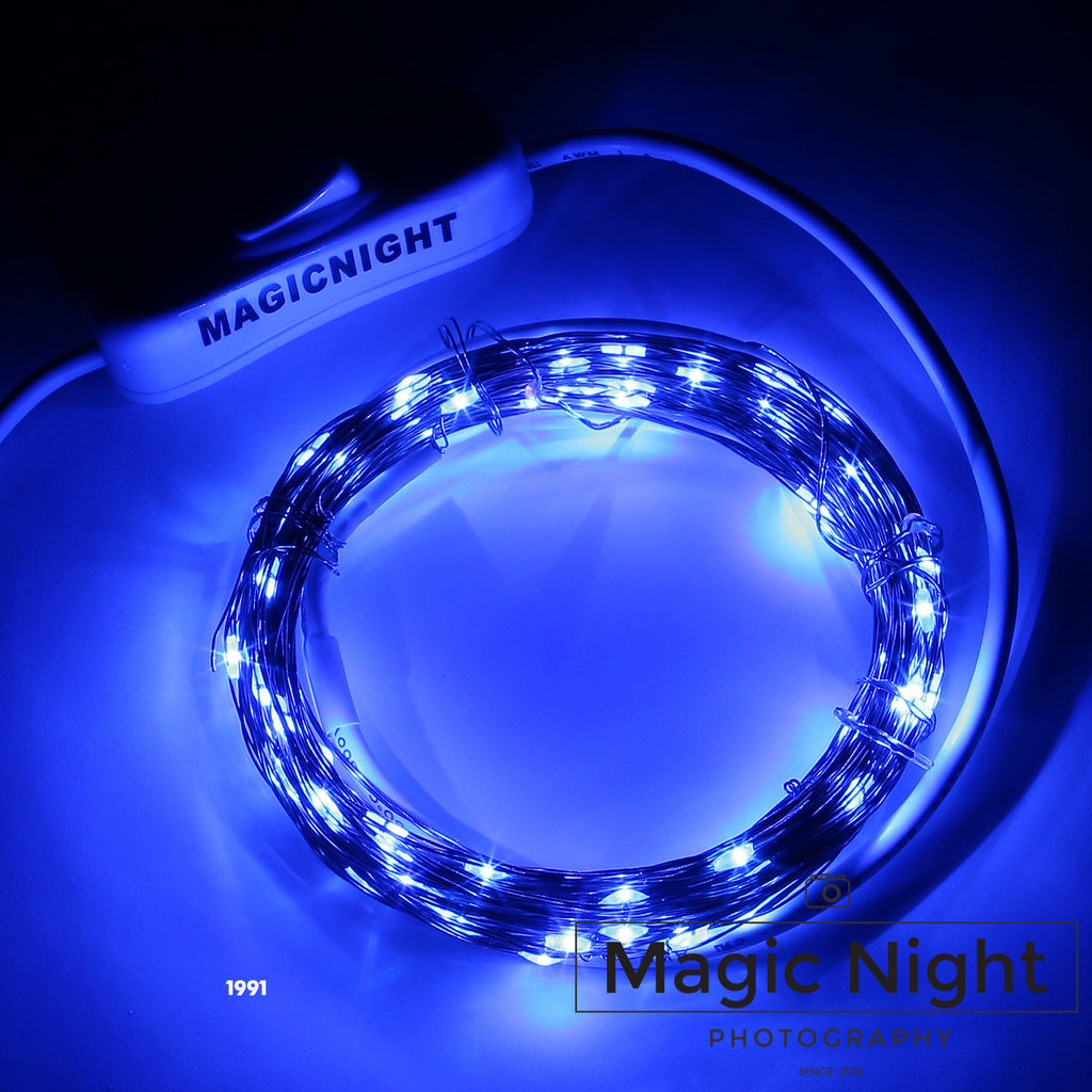 Magicnight 16FT 50 LED USB Powered Operated Led String Starry Light