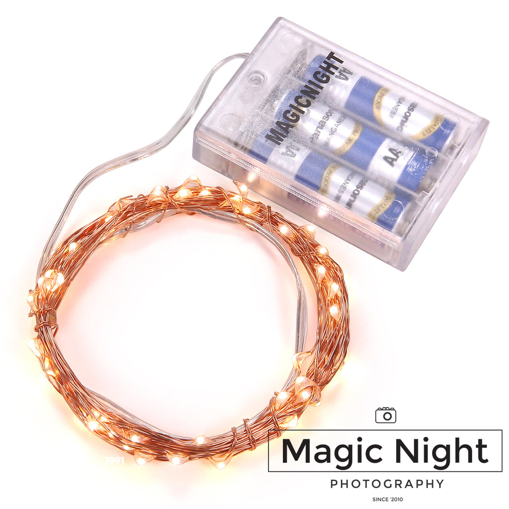 Magicnight Battery Powered Operated Led String Starry Light 30 Leds