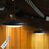 Solar Pendant Shed Light with Remote Control
