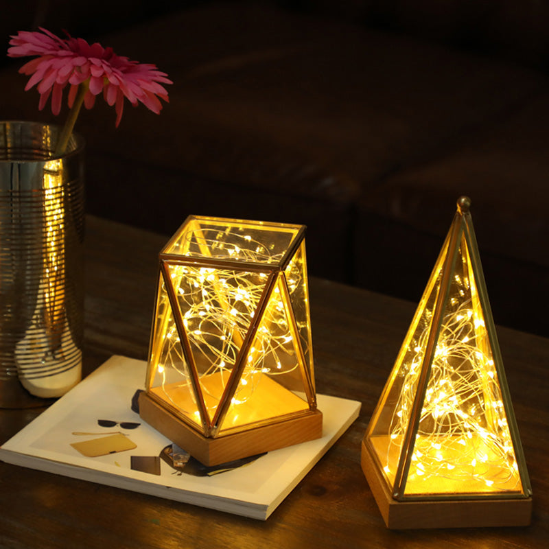Pyramid Fairy Lamp Night Light USB Operated - MAGICNIGHT