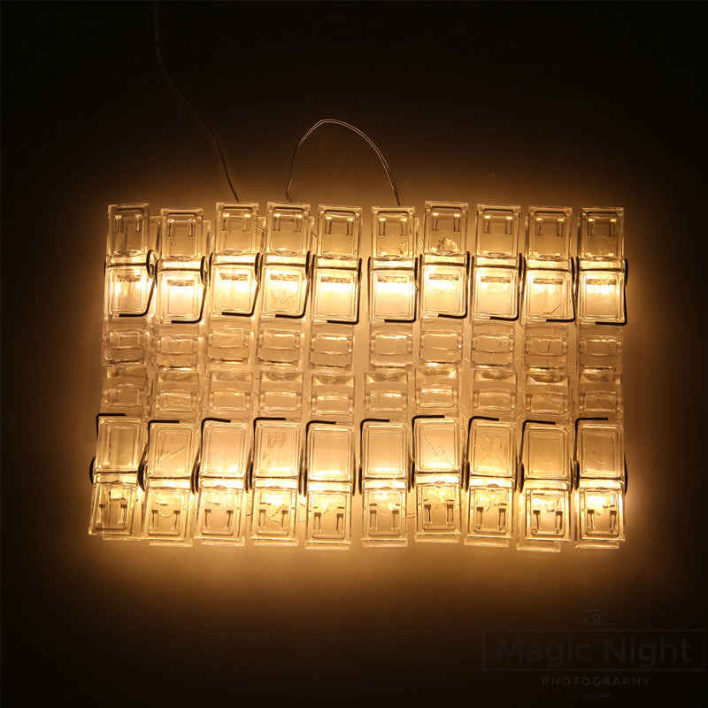 timer orange led string function lights mini light strings battery operated party micro