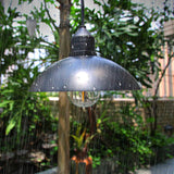 Outdoor Hanging Solar Powered Shed Light Pendant Lamp for Garden Yard Patio Balcony Home Landscape - MAGICNIGHT