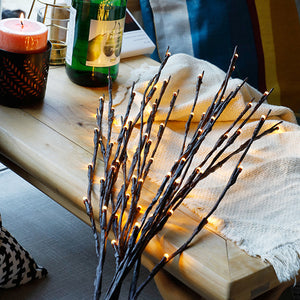 3 Pack 76cm LED Twig Lights Tree Branch Lights