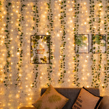 12 Strands Artificial Ivy Garland with LED String Lights