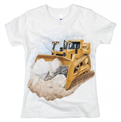Shirts That Go Little Boys' Bulldozer T-Shirt