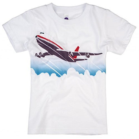 Shirts That Go Little Boys' Jet Airplane T-Shirt