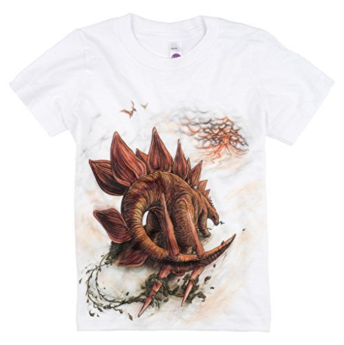 Shirts That Go Little Boys' Stegosaurus Dinosaur T-Shirt