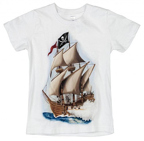 Shirts That Go Little Boys' Pirate T-Shirt
