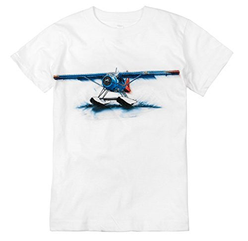 Shirts That Go Little Boys' Propeller Airplane T-Shirt