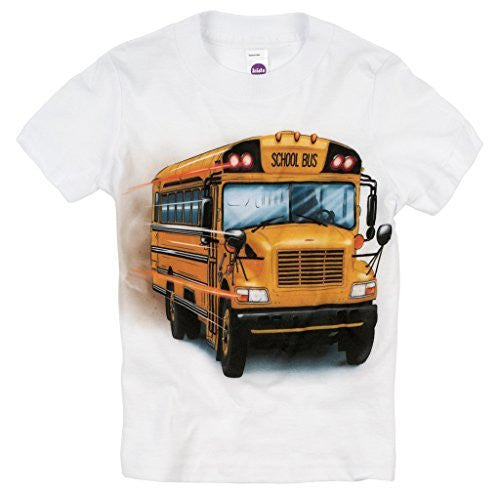 Shirts That Go Little Boys' Big Yellow School Bus T-Shirt