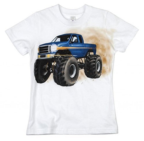 Shirts That Go Little Boys' Monster Truck T-Shirt
