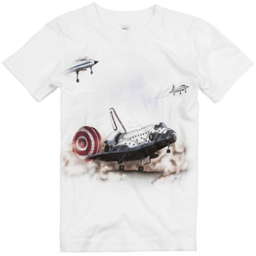 Shirts That Go Little Boys' Space Shuttle Landing T-Shirt