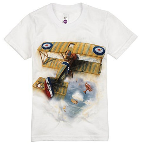 Shirts That Go Little Boys' Sopwith Camel Airplane T-Shirt