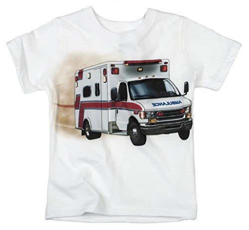 Shirts That Go Little Boys' Ambulance T-Shirt